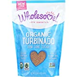 Wholesome Sweeteners Sugar - Organic - Turbinado - Raw Cane - 1.5 lb - case of 12