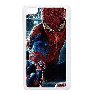 iPod Touch 4 Case White Spiderman 001 Exquisite designs Phone Case KM582H92