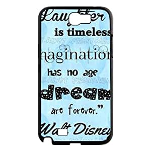 Laughter is timeless CUSTOM Hard Case for Samsung Galaxy Note 2 N7100 LMc-70493 at LaiMc