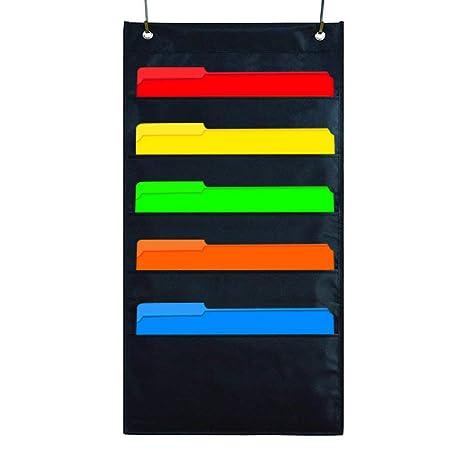 Kruideey Archivador de pared de tela de calidad para oficinas, hogares, colegios, para