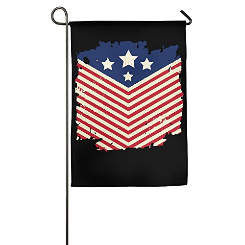 TT&Flag Vintage American Flag 4th July Printed Home Backyard