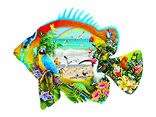 Beachfront 1000 pc Shaped Jigsaw Puzzle by SunsOut