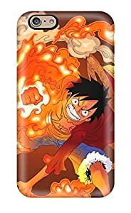 Best New Snap-on Skin Case Cover Compatible With Iphone 6- Luffy