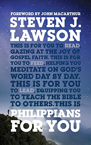 Philippians For You: Shine with joy as you live by faith (God's Word For You Book 18) cover
