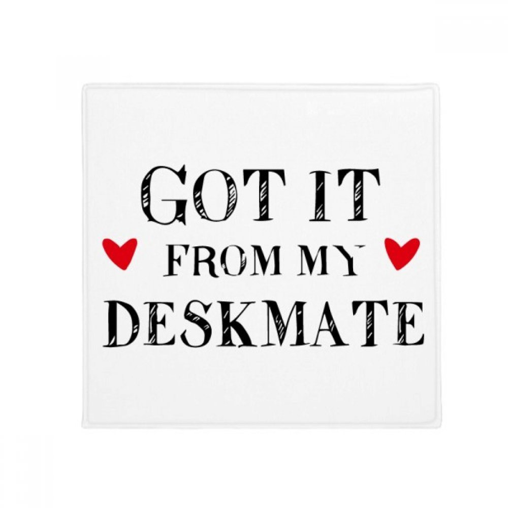 DIYthinker Got It from My Deskmate Graduation Season Anti-Slip Floor Pet Mat Square Home Kitchen Door 80Cm Gift