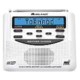 Midland WR120 Radio con Reloj, Analógico, LCD, Baterías Alcalinas AA