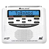 Midland - WR120B/WR120EZ - NOAA Emergency Weather Alert Radio - S.A.M.E. Localized Programming, Trilingual Display, 60+ Emergency Alerts, & Alarm Clock (WR120B - Box Packaging)