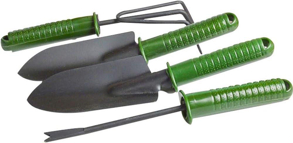 Green Gobesty Garden Tools Hand Tools Set Gardening Gifts for Men and Women 4 Pcs Garden Tool Set Mini Gardening Set Portable Garden Hand Tools Set