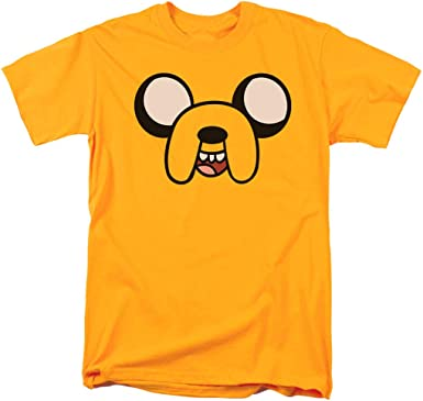 Adventure Time Finn Get Your Hero On Jake Licensed Adult T-Shirt