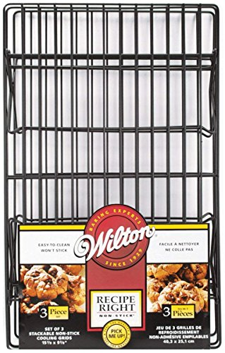 Wilton Recipe Right Non-Stick Cooling Rack, 3-Tier