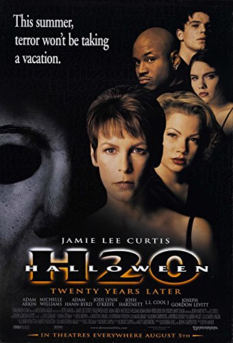 (Halloween H20 20 Years Later Jamie Lee Curtis Original Double Sided 27x40 Movie Poster)