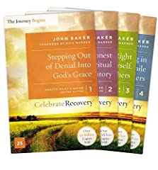 This shrink-wrapped pack includes all four participant's guides for the Celebrate Recovery Program:                Guide 1: Stepping Out Of Denial         Guide 2: Taking An Honest and Spiritual Inventory         Guide 3: Getting Right...