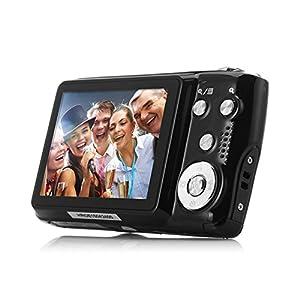 PowMax WW-49 2.7 Inch TFT 8X Optical Zoom 18MP 1280 X 720 HD Anti-shake Smile Capture Digital Video Camera(Blak)
