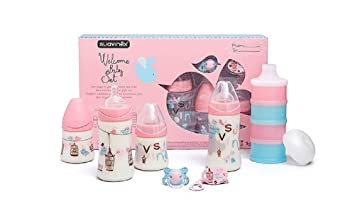 Amazon.com : Suavinex Little Luxuries Welcome Baby Gift - 7 Piece ...
