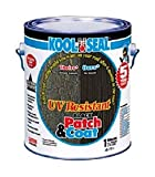 KST Coating 4077716 RV Trailer Camper Sealants Uv Resistant Black Patch & Coat 1 Gal. KOOLUSEAL