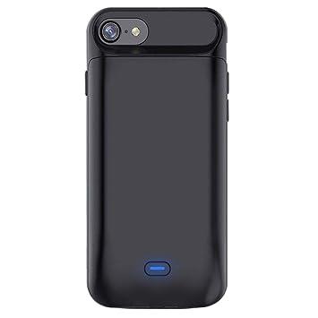 00a38ca570a Bovon Funda Bateria iPhone 7 / 8, 5000mAh Power Bank Externa Recargable  Cargador Portatil Protector Estuche de Carga para iphone 7 / 8 (4.7  Pulgadas): ...