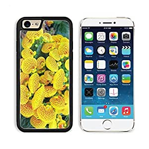 Calceolaria Flower Yellow Bright Spotted Apple iPhone 6 TPU Snap Cover Premium Aluminium Design Back Plate Case Customized Made to Order Support Ready Liil iPhone_6 Professional Case Touch Accessories Graphic Covers Designed Model Sleeve HD Template Wallpaper Photo Jacket Wifi Luxury Protector Wireless Cellphone Cell Phone by lolosakes