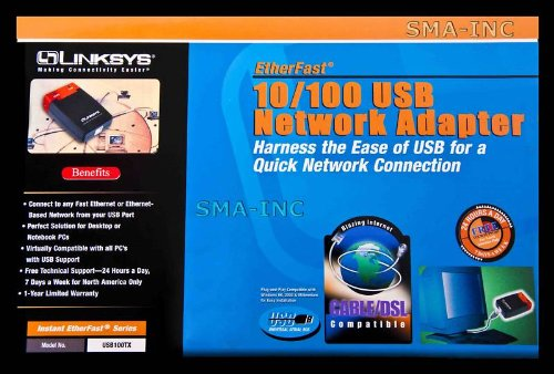 Linksys 100TX Wired Network Adapter for Tivo Series 2 Dvrs