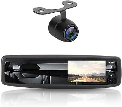 "170° CQAS Backup Reverse Camera MT Car Rear View 4.3/"" Color LCD Screen Monitor"