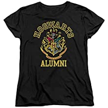 Harry Potter Hogwarts Alumni Womens Short Sleeve Shirt