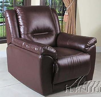 Amazon.com: Reclinable silla de Club Cherry café juego de ...