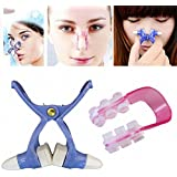 Generic 2 Sets Nose Up Shaping Face Fitness Facial Clipper Corrector For Women