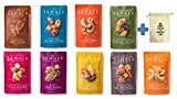 Sahale Snacks All Natural Glazed Nut Blend Variety Pack (4oz x 9 Packs - 9 Different Flavors) with Snack Pouch