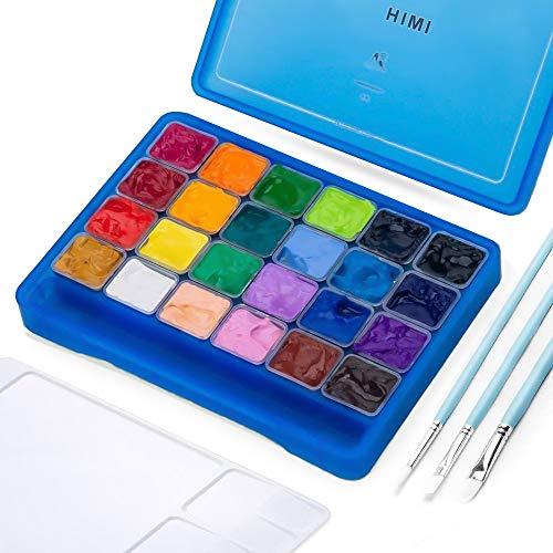 Himi Gouache Set De 24 Colores 30ml (caja azul)