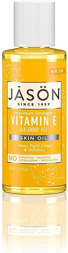 Jason Bodycare Vitamin E Oil 45000 IU 60ml