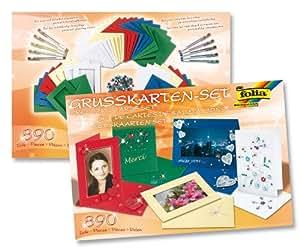 max bringmann kg folia 10020 greeting cards set 890 pcs material mix cards. Black Bedroom Furniture Sets. Home Design Ideas