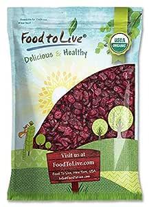 Arándanos secos Bio, 5 Libras - Eco, Ecológico, Sin OGM, Kosher, sin azufre, a granel