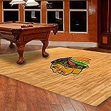 NHL 8-foot by 8-foot Fan Floor