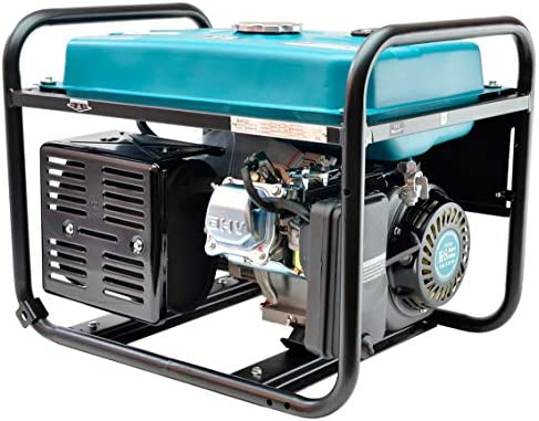 Könner & Söhnen KS 3000 - Generador de electricidad, motor de gasolina de 4 tiempos, cobre, 3000 W, 16 A, 230 V, generador de garaje o camping: Amazon.es: Bricolaje y herramientas