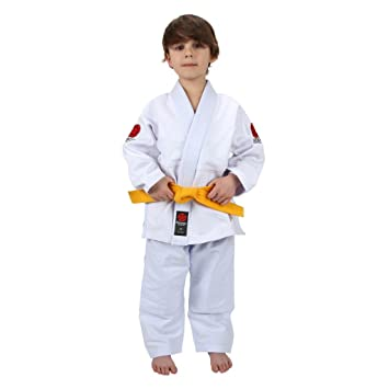 Amazon.com: Flow Kimonos Kids BJJ Jiu Jitsu Gi: Clothing