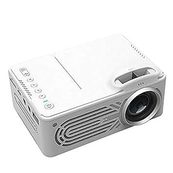 Mini proyector con Pantalla Grande LED Full HD Video ...