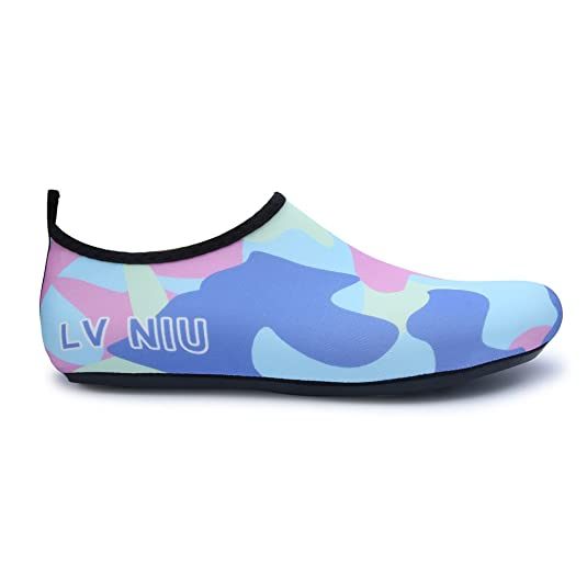 Womens and Mens Classic Barefoot Water Sports Skin Shoes Aqua Socks for Beach  Swim Surf Yoga Exercise: Amazon.ca: Shoes & Handbags