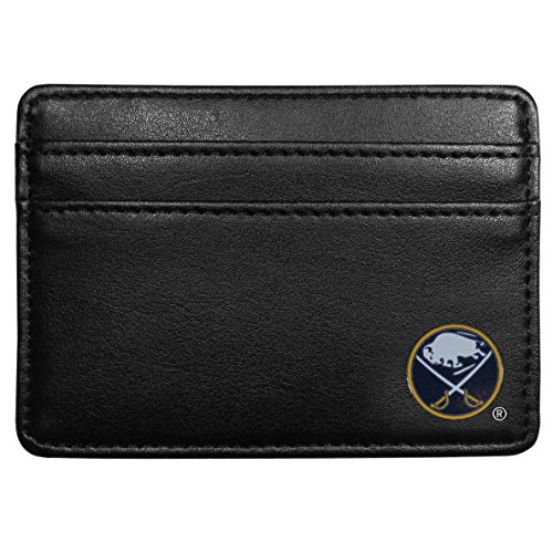 Buffalo Sabres Leather - NHL Buffalo Sabres Leather Weekend Wallet, Black
