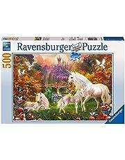 Ravensburger 141951 Puzzel Betoverde Eenhoorns - Legpuzzel - 500 Stukjes