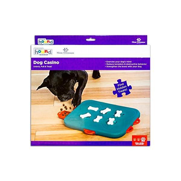 Outward Hound Nina Ottosson Dog Casino Dog Puzzle Toy Dog Game 5