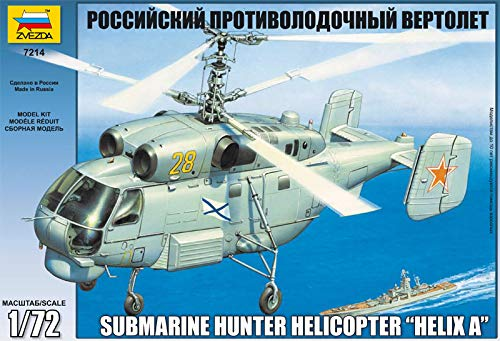 Zvezda 500787214-1:72 Helikopter KA-27 Uboot-J/äger Helix A