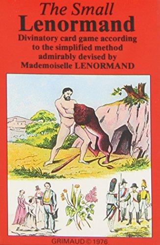 PETIT LENORMAND TAROT (37 CARTES)
