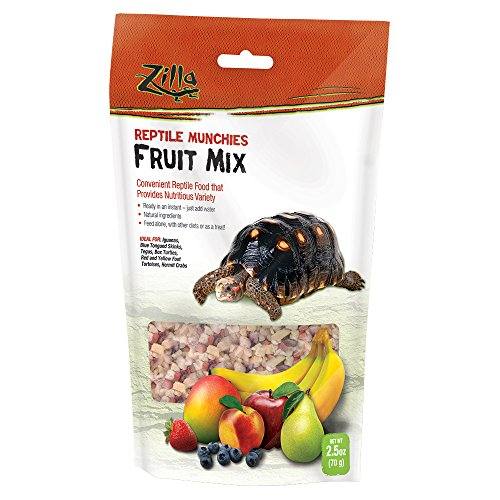 (Zilla Reptile Food Munchies Fruit Mix, 2.5-Ounce)