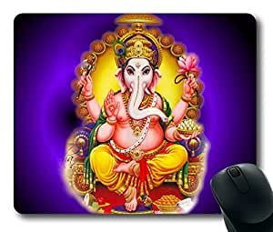 Ganesha Easter Thanksgiving Personlized Masterpiece Limited Design Oblong Mouse Pad by Cases & Mousepads