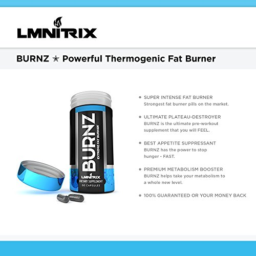BURNZ-Powerful-Thermogenic-Fat-Burner-Powerful-Weight-Loss-Aid-Stronger-Than-Most-Diet-Pills-True-Plateau-Destroyer-Lose-Weight-Fast-For-Men-And-Women-Guaranteed-Results-60ct