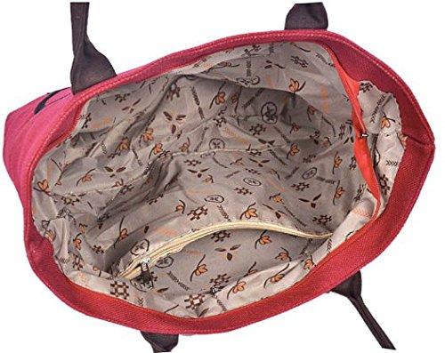 Bag Divertente Rosso viola Bag Cat Cat viola Rosso Bag Divertente Cat rwvqw5C4