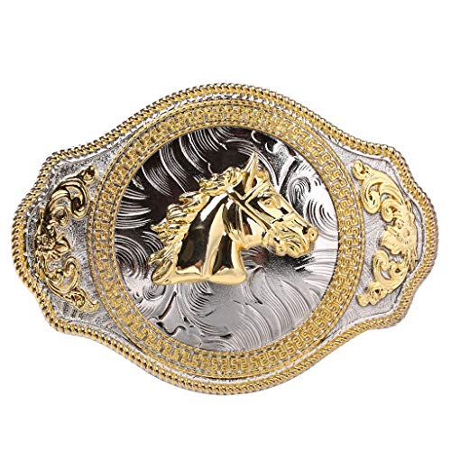 d1bcadd747c0 Western Rodeo Horse Belt Buckle Engraved Celt Pattern cowboy buckles for men  and women