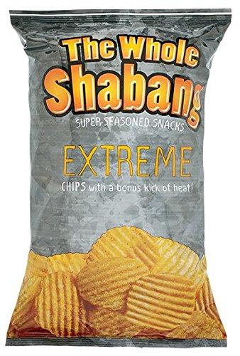 The Whole Shabang Potato Chips (EXTREME Rippled Chips)