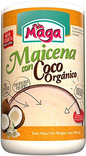 MAICENA con COCO (Cornstarch Cereal with Coconut) by Maga Foods Puerto Rico - 12 oz (Count of 2)
