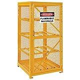 Storage Cabinet Single Door Horizontal, 8 Cylinder Capacity