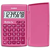 Casio Petite FX Calculatrice Scolaire 8 chiffres Rose